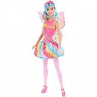 Papusa Barbie Fairy Rainbow