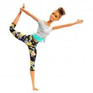 Papusa Barbie Made To Move flexibila Yoga bruneta
