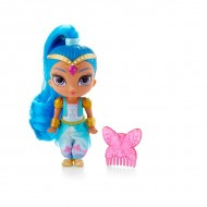 Papusa Shine cu pieptene roz : Shimmer and Shine