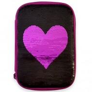 Penar Heart Adventure neechipat cu model paiete reversibile Inimioara