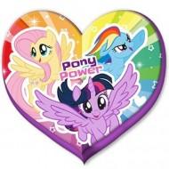 Perna in forma de inimioara My Little Pony 40 cm