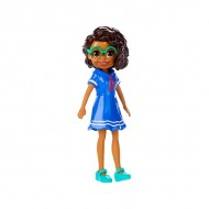 Polly Pocket figurina Shani in rochie albastra