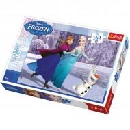 Puzzle Frozen cu 160 de piese