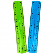 Rigla flexibila verde neon 20 cm Keyroad