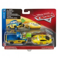 Set 2 Masinute Dexter Hoover & Charlie Checker Disney Cars