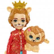 Set 5 papusi Enchantimals Royal cu animalute