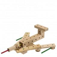 Set de constructie din lemn Matador Explorer - Spatiu