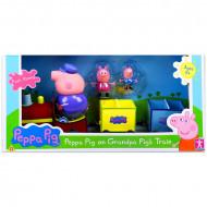 Set de joaca Peppa Pig - Trenul bunicului