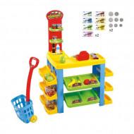 Set de joaca PlayGo - Supermarket 76 piese