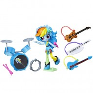 Set de joaca Scoala de Muzica a lui Rainbow Dash My Little Pony Minis Equestria Girls
