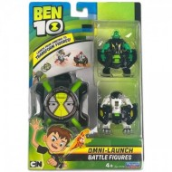Set Omnitrix cu figurine Cannon Bolt si Cap de Diamant Ben 10 Action