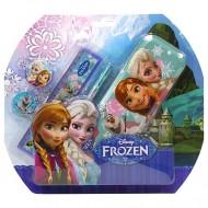 Set penar si instrumente de scris Frozen 4 Bucati