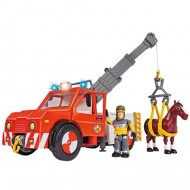 Camionul de Pompieri Phoenix cu Remorca Pompierul Sam