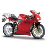 Motocicleta Ducati 998R 1/18 Bburago
