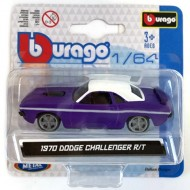 Masinuta Dodge Challenger 1970 1/64 Bburago