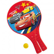 Set rachete tenis din plastic cu minge Disney Cars