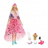 Barbie Princess Adventure - Papusa blonda cu catel