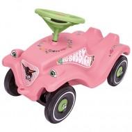 Big Bobby Car roz cu floricele