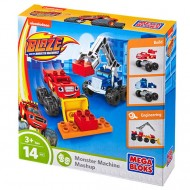 Blaze Si Camionul Construibil Mega Bloks - Blaze and the Monster Machines