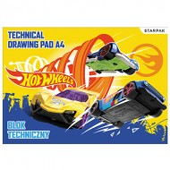 Bloc de desen 10 file A4 Hot Wheels