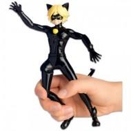 Figurina articulata Motan Noir 19 cm - Miraculous: Buburuza si Motan Noir