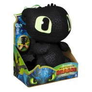 Figurina de plus interactiva Toothless 36 cm - Cum sa-ti dresezi dragonul