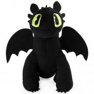 Figurina de plus Toothless (Stirbul) 18 cm - Cum sa-ti dresezi dragonul