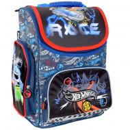 Ghiozdan Ergonomic cu pereti rigizi Hot Wheels Let's Race