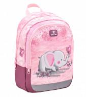 Ghiozdan gradinita Belmil Kiddy - Elefantul roz