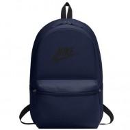 Ghiozdan rucsac Nike Heritage bleumarin cu buzunar frontal