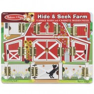Hide& Seek Farm Melissa&Doug
