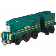 Locomotiva cu Vagon Metalica Shane Push Along Thomas&Friends Track Master