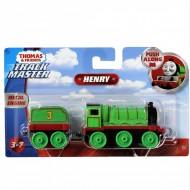 Locomotiva Metalica cu vagon Henry Push Along Thomas&Friends Track Master