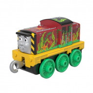 Locomotiva Metalica Salty cu alge Push Along Thomas&Friends Track Master