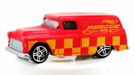 Masinuta '55 Chevy Panel 1/64 Hot Wheels Colour Shifters
