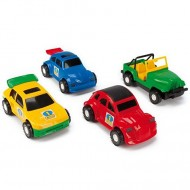 Masinuta Color Cars in 4 variante Wader Kid Cars