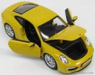 Masinuta Porsche 911 Carrera S Galben 1/24 Bburago