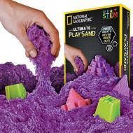 National Geographic STEM Kit - Nisip special kinetic violet
