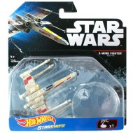 Nava X-Wing Fighter Hot Wheels Star Wars Starships