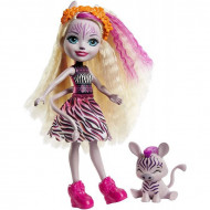 Papusa Zadie Zebra si figurina Ref EnchanTimals
