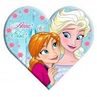 Perna inima Elsa si Ana Frozen 35 cm