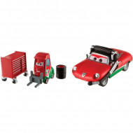 Set 2 masinute metalice Giuseppe Motorosi si Alex Machino Disney Cars