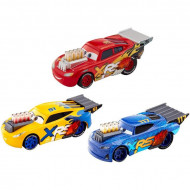 Set 3 masinute metalice Disney Cars Xtreme Racing