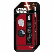 Set 4 instrumente de scris Star Wars
