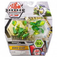 Set Bakugan Armored Alliance Baku-Gear figurina Batrix Ultra verde