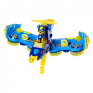 Set Chase si Masina de politie transformabila in avion Paw Patrol Mighty Pups Patrula Catelusilor