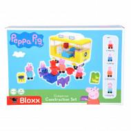 Set de constructie Big Bloxx Peppa Pig autorulota
