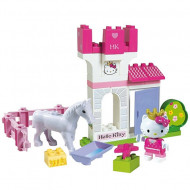 Set de cuburi Castelul Hello Kitty Unico