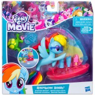 Set Figurina Rainbow Dash Sporturi Acvatice My Little Pony:Filmul