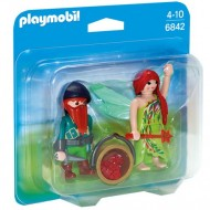 Set figurine Elf si Dwarf Playmobil